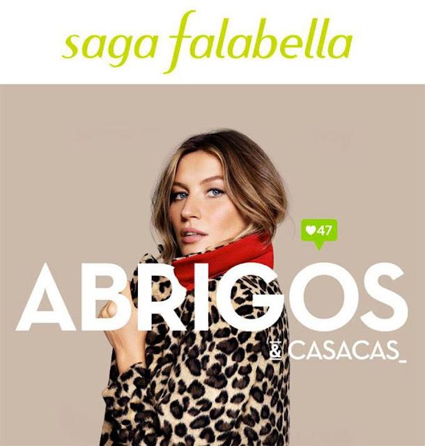 Catalogo de abrigos saga Falabella junio 2017