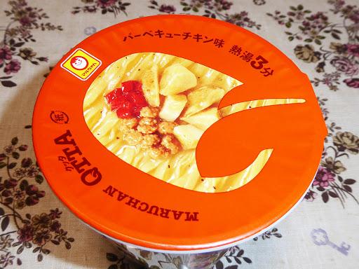【マルちゃん(東洋水産)】QTTA(クッタ) バーベキューチキン味