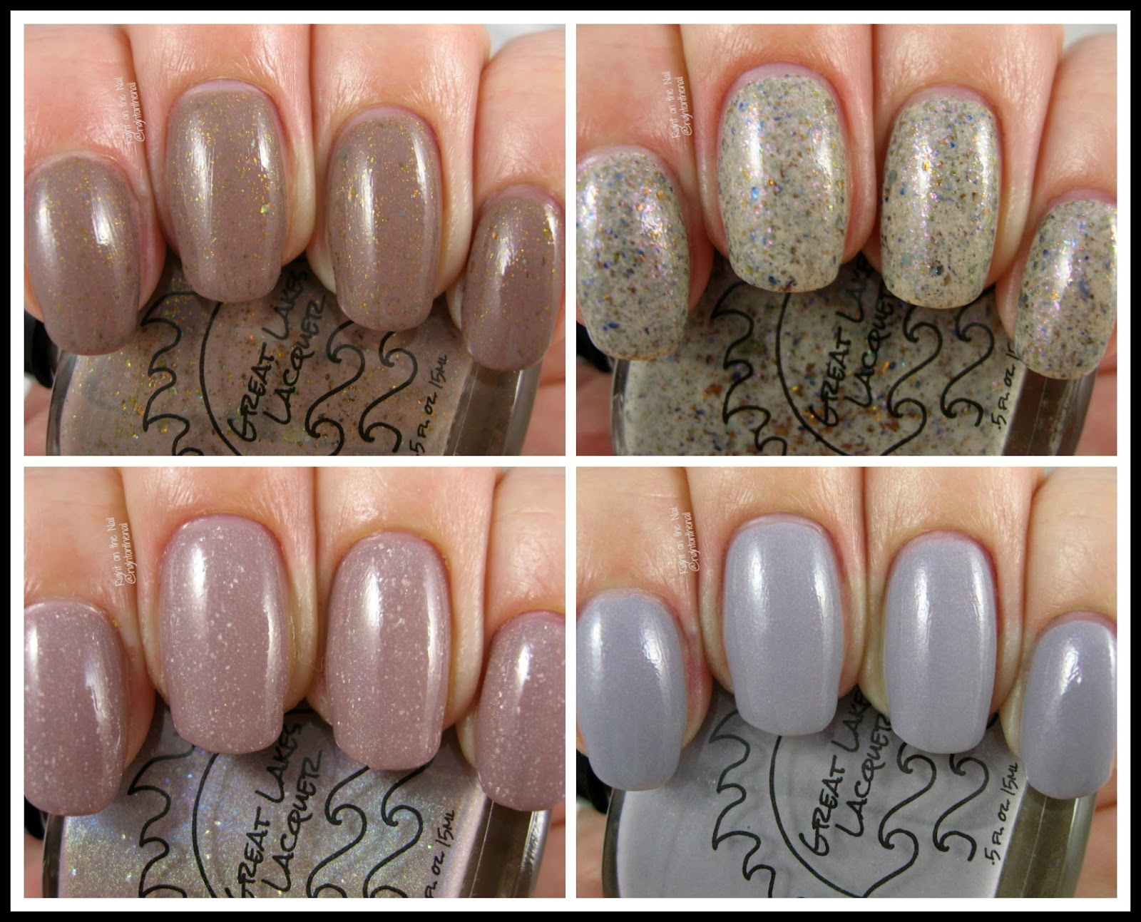 Right on the Nail: Great Lakes Lacquer Fall 2016 A Nude Awakening ...