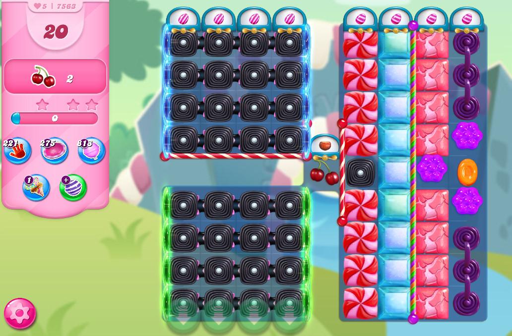Candy Crush Saga level 7563