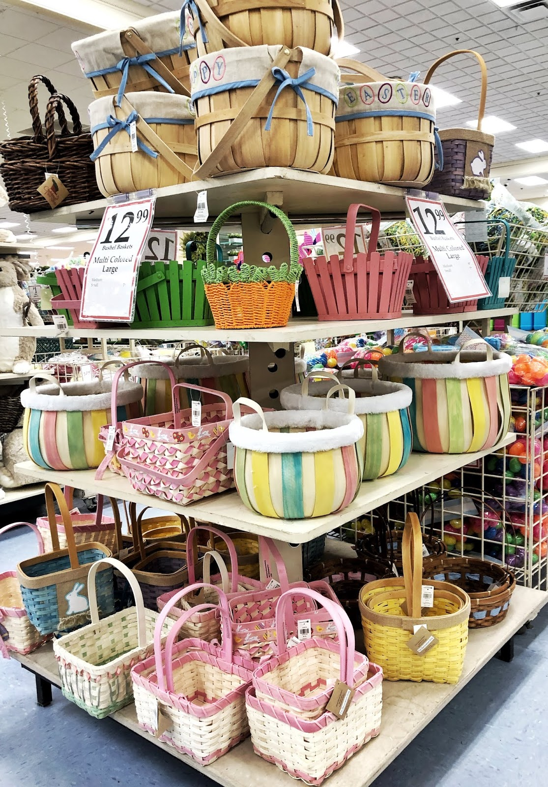 Easter Basket Ideas Christmas Tree Shops