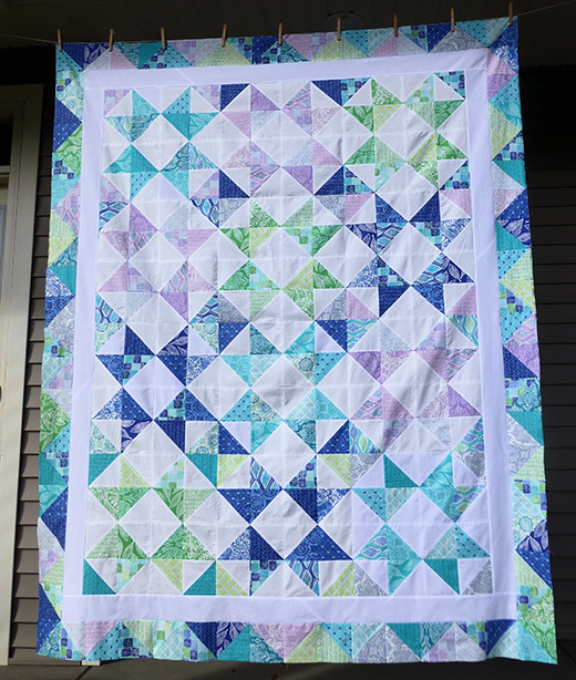 Castles on the Horizon Quilt Free Tutorial