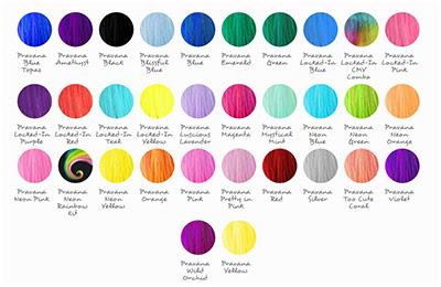 Pravana Hair Color Chart- Pravana Neons Color Chart