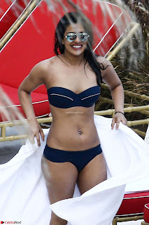 Priyanka Chopra in Bikini at a el pool  10 ~  Exclusive.jpg