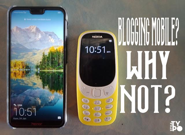 Dengan mobile blogging jadi lancar gambar diambil menggunakan oppo A83