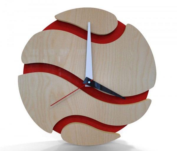 Desain Jam Dinding Modern untuk Dekorasi Dinding