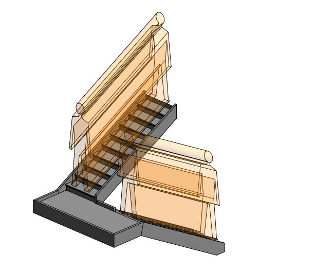 Revit Oped Stair Headroom Clearance