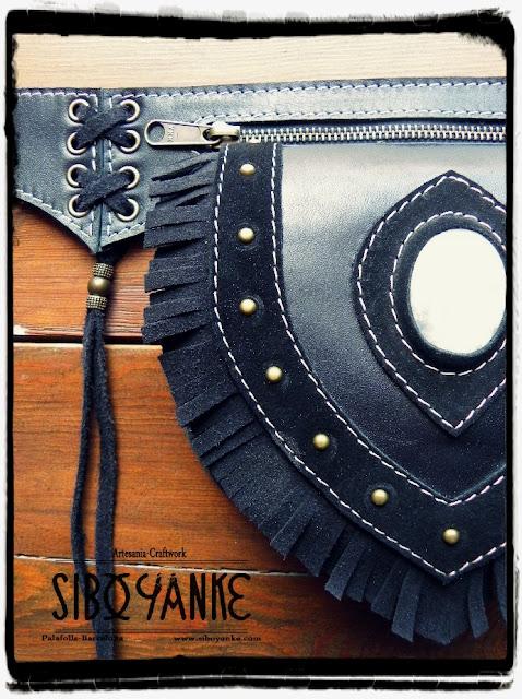 Leather Utility Belt,Riñonera de Cuero, FannyPack, Riñonera,FestivalBelt, Boho Belt, Gypsy Belt, Utility Belt