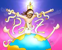 Resultado de imagen para En aquel tiempo, los magistrados hacían muecas a Jesús diciendo: «A otros ha salvado; que se salve a sí mismo, si él es el Mesías de Dios, el Elegido»