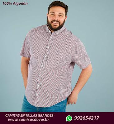 Camisas 2XL