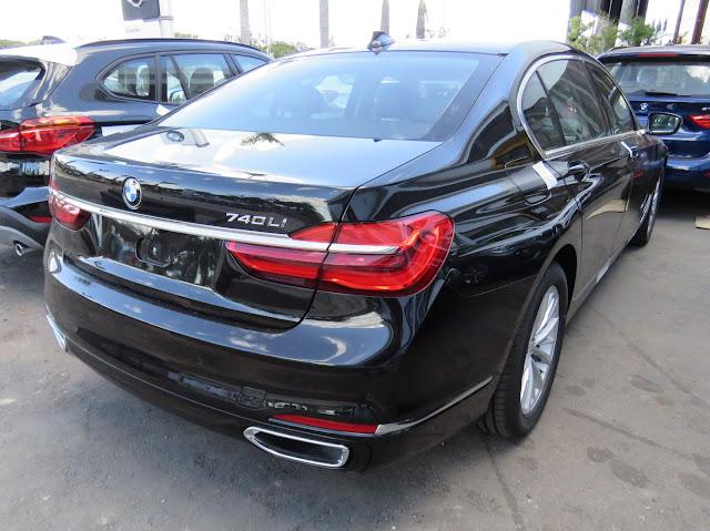 Novo BMW Série 7 2017