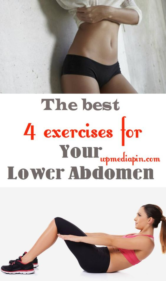 The Best 4 Exercises For Your Lower Abdomen