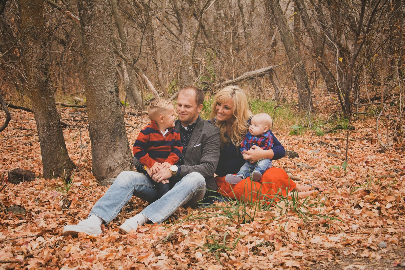 Sanders Family, Fall 2014 | Cache Valley Family Photographer