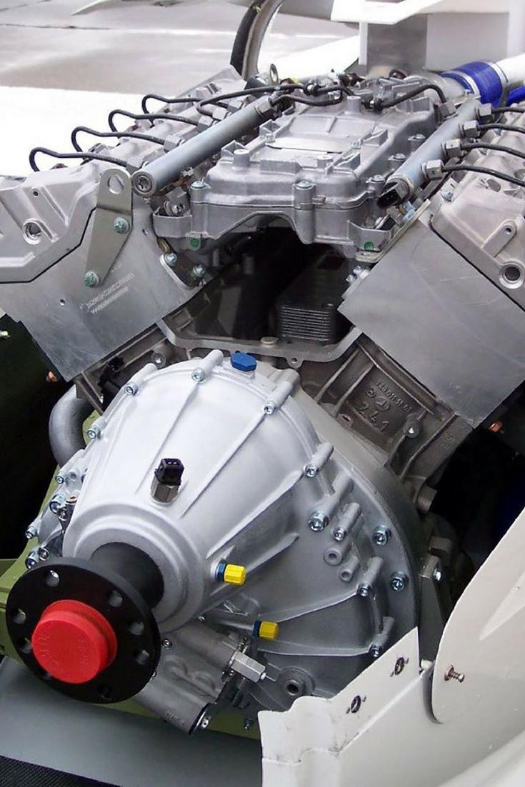 Motor para avión Diesel
