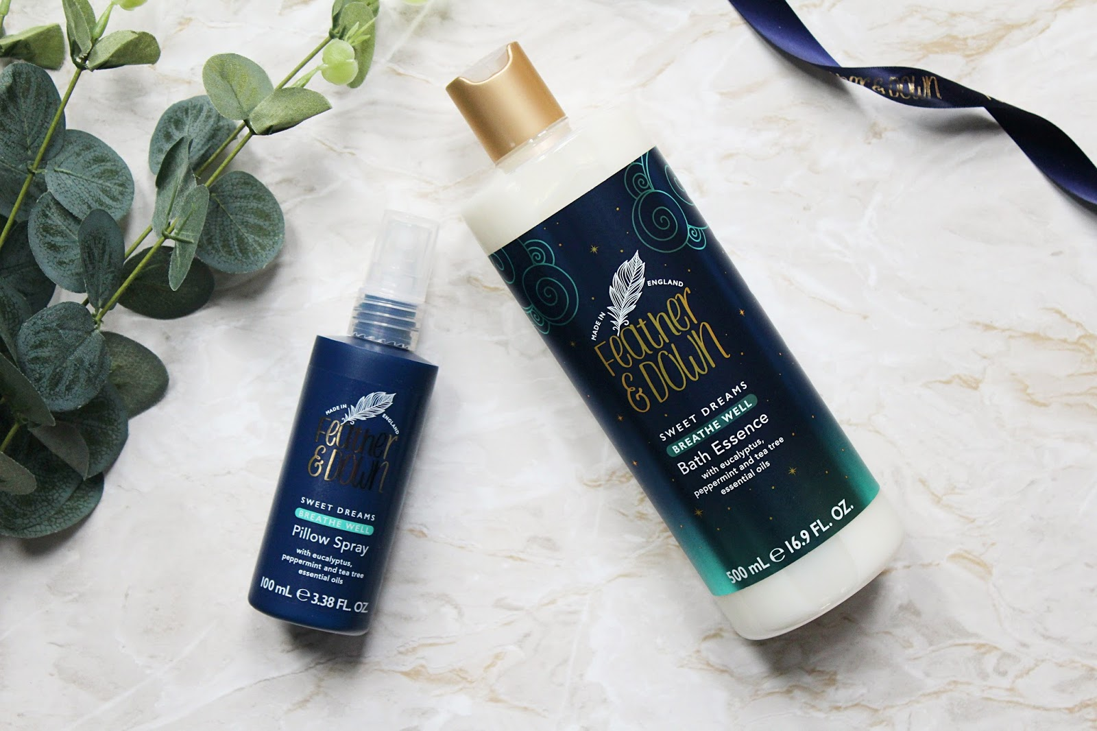 Feather & Down Breathe Well Pillow Spray & Bath Essence