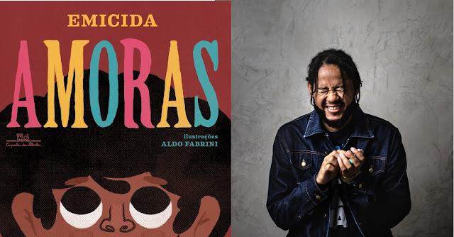 Emicida lança livro Infantil #Amoras