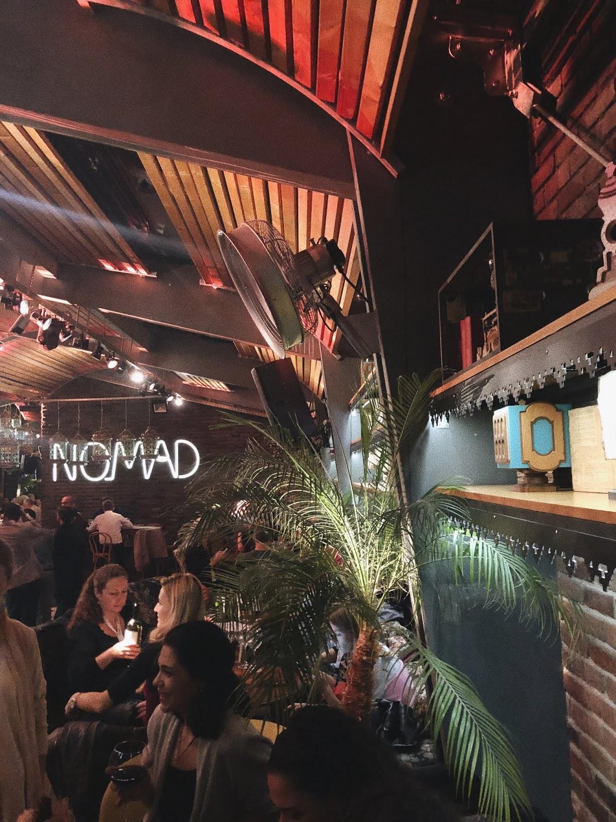 nomad sky bar