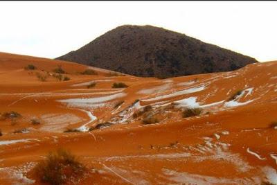 nieve desierto sahara