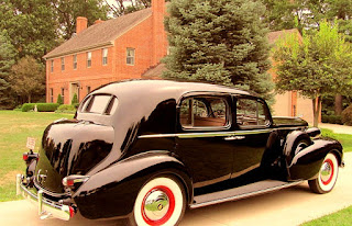 1937 Cadillac Fleetwood Brougham Rear Right