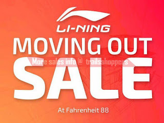 Li-Ning Fahrenheit 88 Moving Out Sale 2017