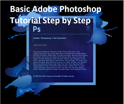 Step by Step Training of Adobe Photoshop CS6 and CC