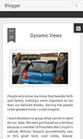 Dynamic view - Mobile