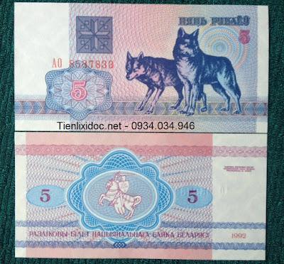 Tiền con chó belarus