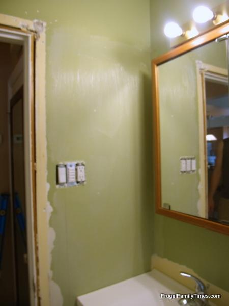 Beadboard Wallpaper Install