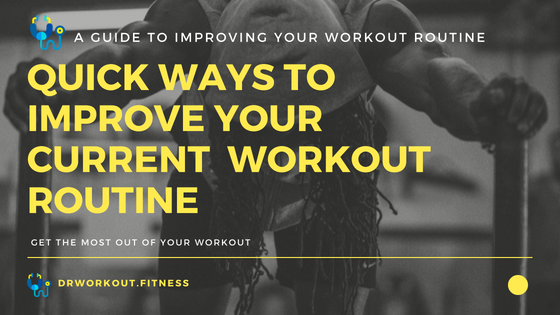 Training tips to improve your workout routine