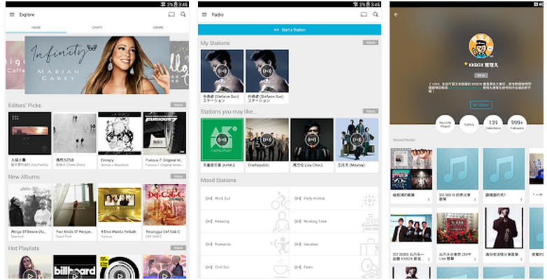 Top 5 Asian music streaming apps - TheHive Asia