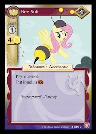My Little Pony Bee Suit Absolute Discord CCG Card