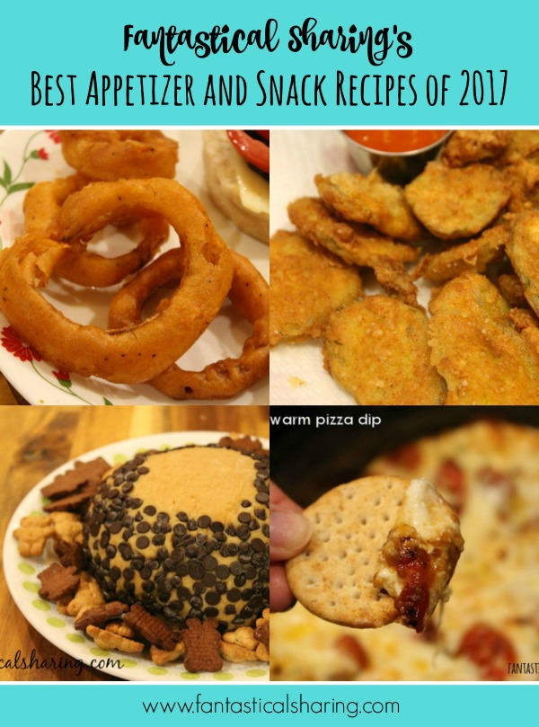 Beat Appetizer and Snack Recipes of 2017 #appetizer #snack #recipe #food #Countdownto2018