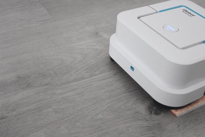robot friegasuelos domestico irobot