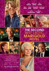 """Carátula del DVD: """"El nuevo exótico Hotel Marigold"""""""