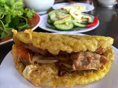 Nét riêng biệt làm nên hương vị bánh xèo xứ Huế