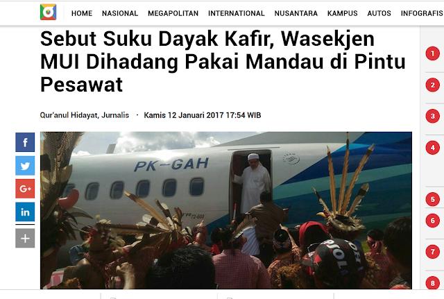 Non Muslim Indonesia Disebut Muwathinun, karena tidak Masuk 4 kategori Kafir dalam Fiqih