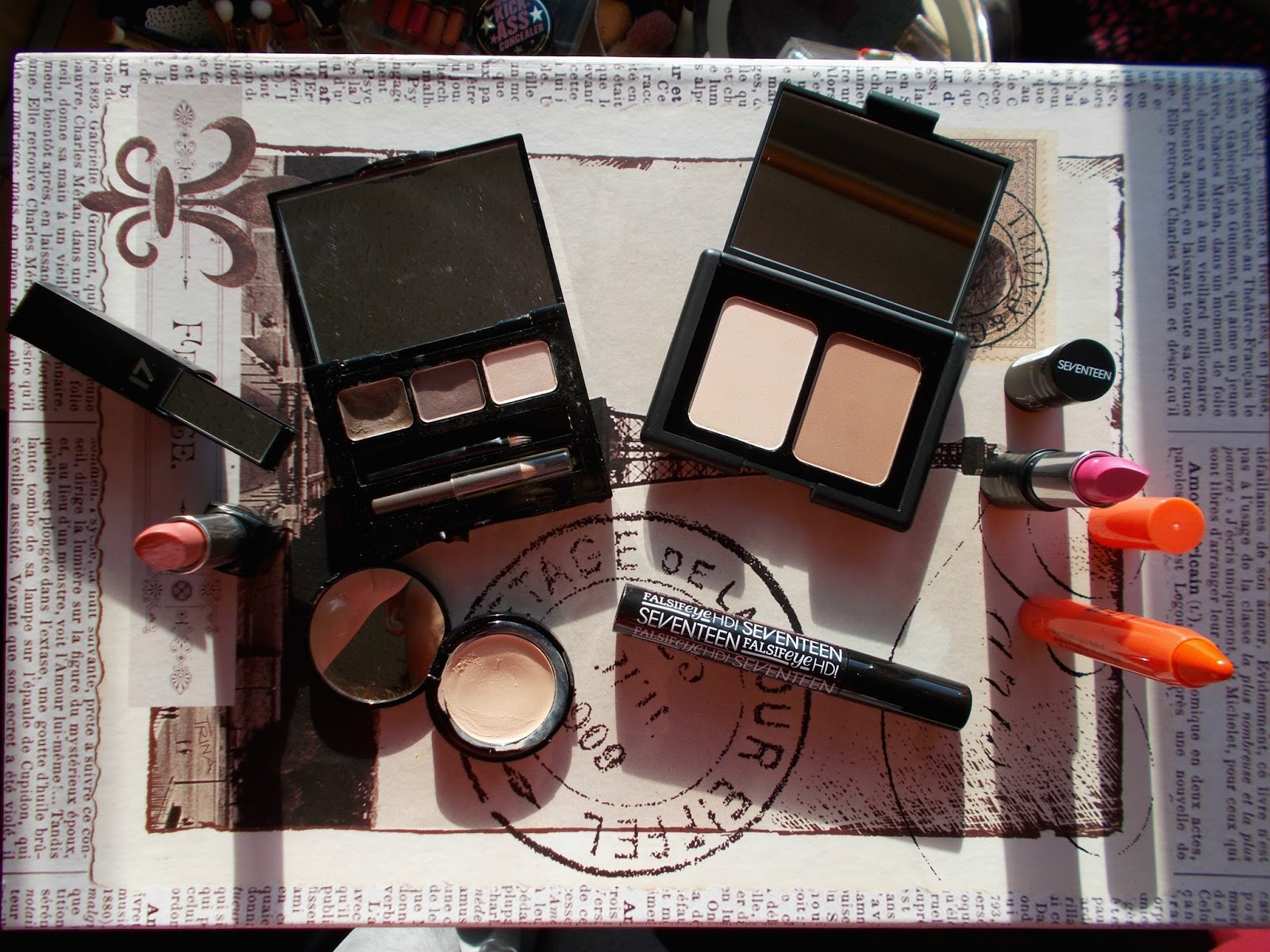 SEVENTEEN Boots favourite products makeup