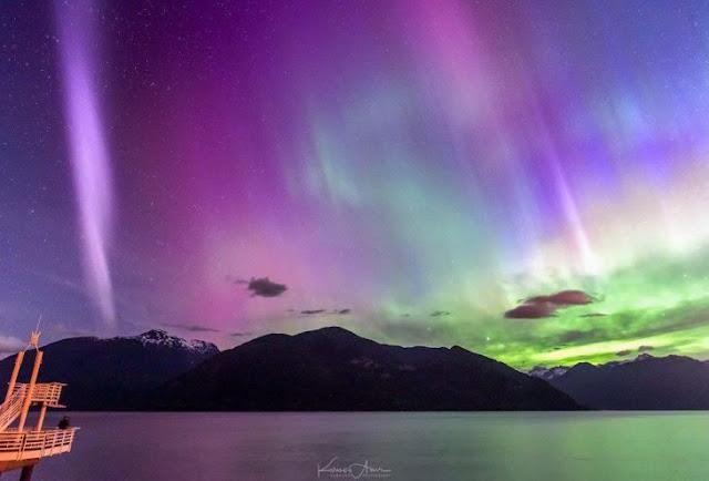 Conoce a Steve, el fenómeno en los cielos de Canadá