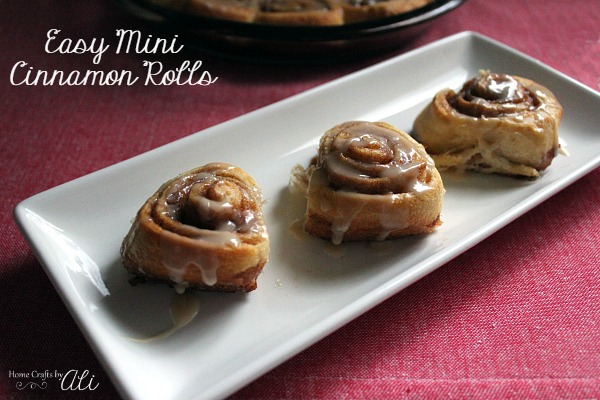 Easy Mini Cinnamon Rolls
