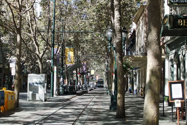 san-jose-city サンノゼの街並み