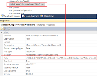 BC30560: 'ReportViewer' is ambiguous in the namespace 'Microsoft.Reporting.WebForms'.
