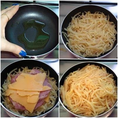cozinhar batata rosti