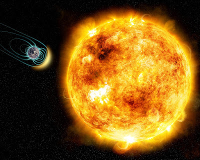 Young sun-like star shows a magnetic field was critical for life on the early Earth