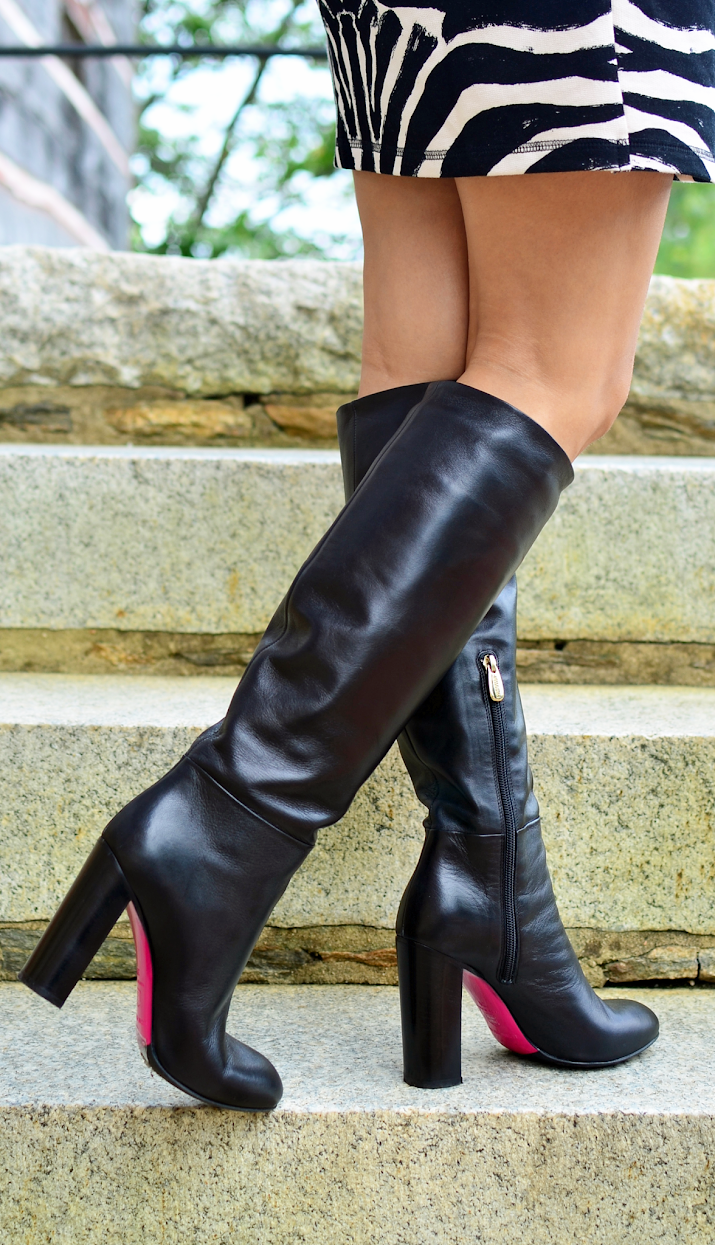 Luciano Padovan Knee High Boots