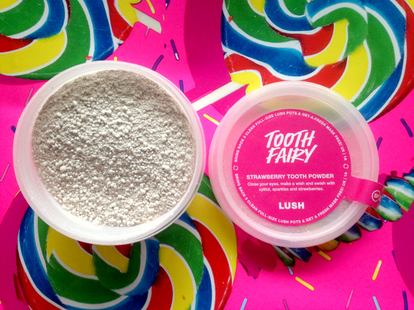 Lush Tooth Fairy Tooth Powder