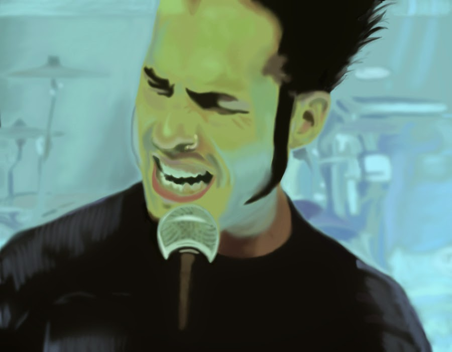 Wayne Static singing