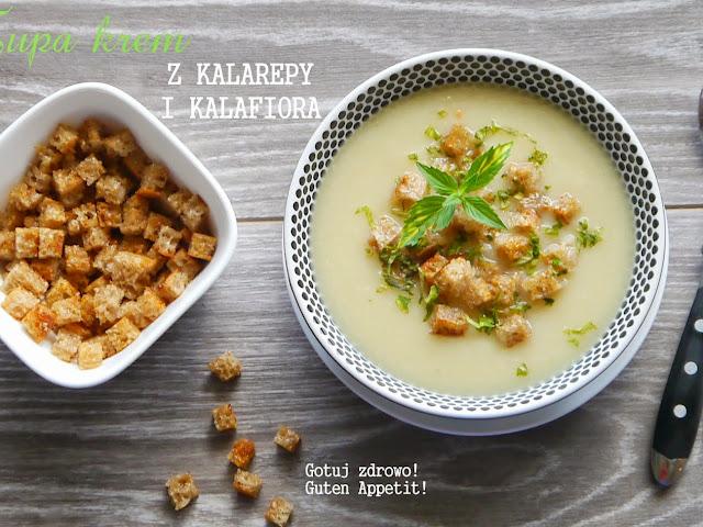Zupa krem z kalafiora i kalarepy - Czytaj więcej »