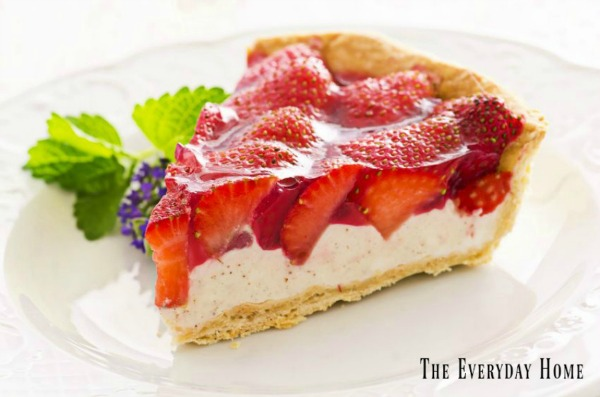 Strawberry Tart from The Everyday Home Blog