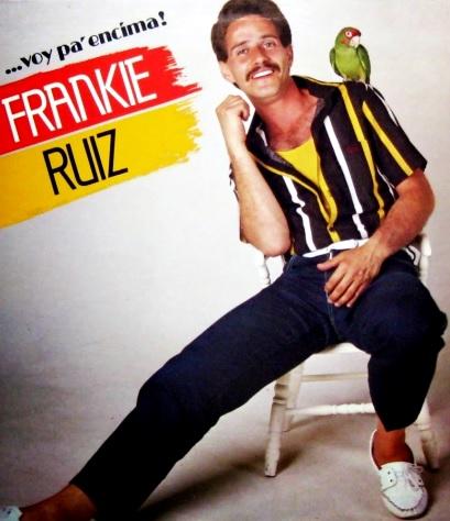 Foto de Frankie Ruiz en portada de disco