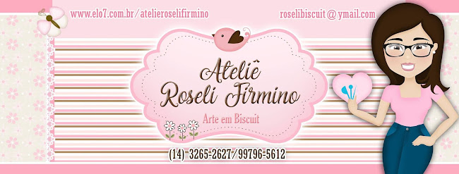 ROSELI NO MUNDO DO BISCUIT